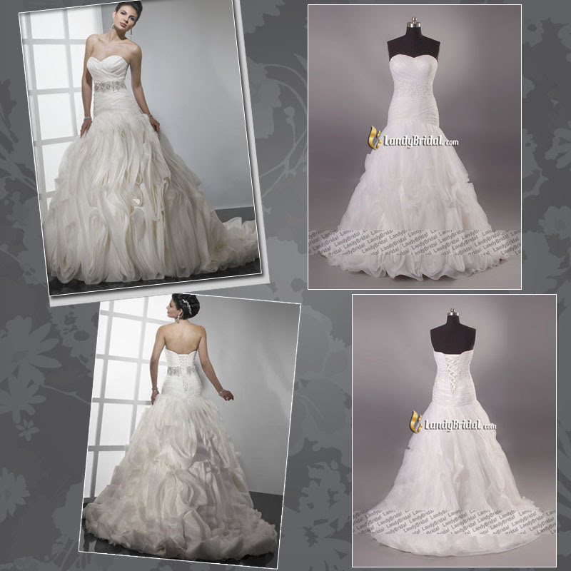 Gorgeous Wedding Dress Bridal Gown All Colors LB3090