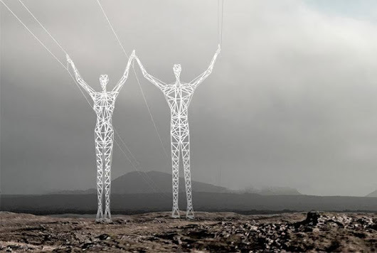 Giant 'Easter Island'-Like Power Lines: So Cool You'll Want to Take a Selfie With 'Em