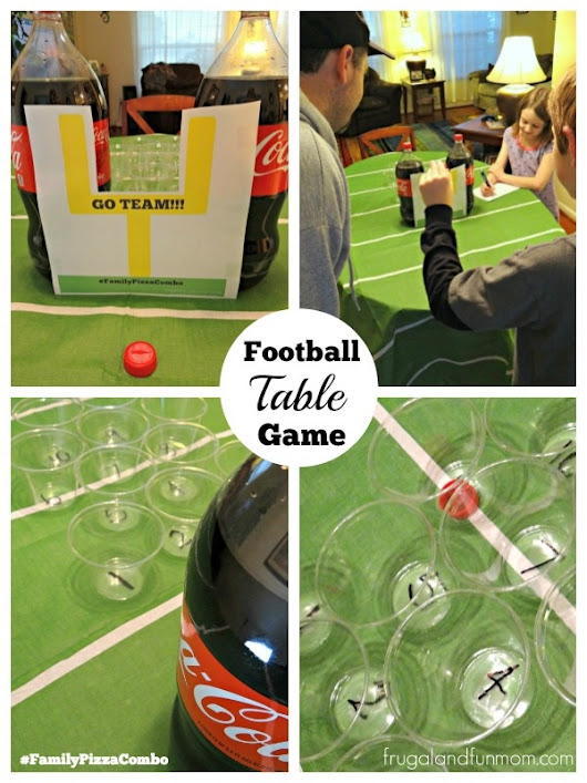 Easy Pizza Dinner Night With A Football Table Game! #BigGame #FamilyPizzaCombo - Frugal and Fun Mom/ Florida Mom Blog, Recipes, Crafts, Family Fun