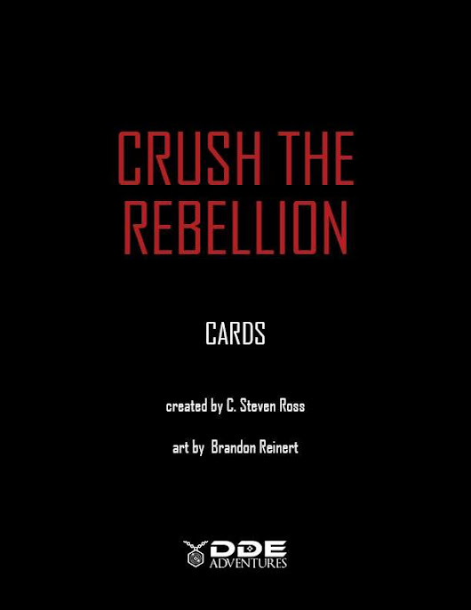 CRUSH the REBELLION - Cards
