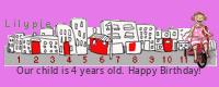Lilypie Birthday tickers