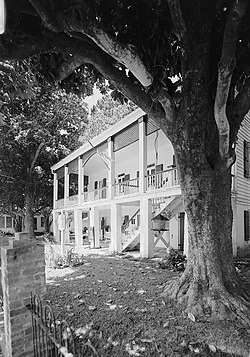 Kate Chopin House Cloutierville Louisiana Wikipedia