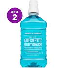 Prince & Spring Antiseptic Mouthwash 2 x 1.5 L - Blue Mint