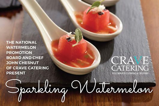 Sparkling Watermelon Recipe | IFEC Chef Showcase - CRAVE Catering | Minneapolis, MN