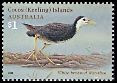 Cl: White-breasted Waterhen (Amaurornis phoenicurus) SG 436 (2008)  [4/44]