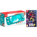 Nintendo Switch Lite 32GB Turquoise and Marvel Ultimate Alliance 3: The Black Order Bundle