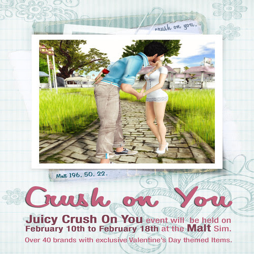 Crush on You Poster Texture