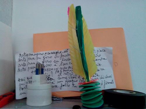 Una lettera incomprensibile con penna by Ylbert Durishti