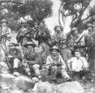 Soldados boers participantes en la guerra  boer contra los británicos. Ampliar imagen