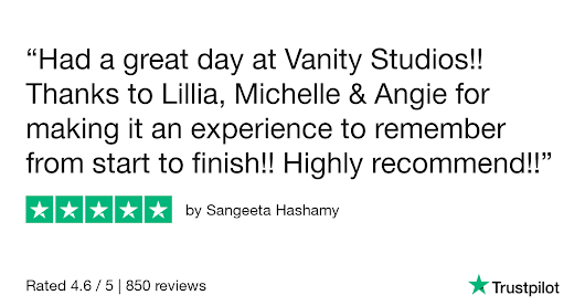 Sangeeta Hashamy gave Vanity Studios 5 stars. Check out the full review...