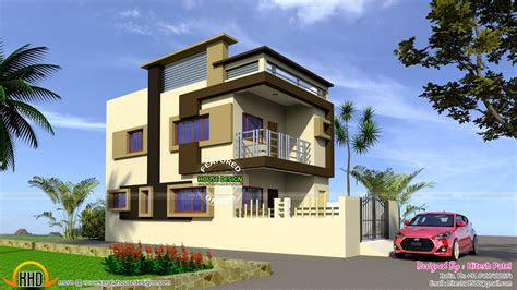 simple indian home plans elevations  base wallpaper