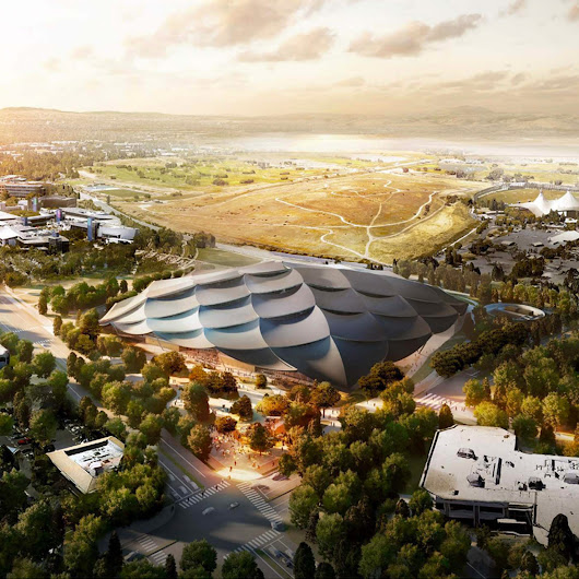 Google reveals latest designs by BIG and Heatherwick for new California HQ