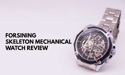 Forsining Mechanical Steampunk Watch Review - Infinity Timewatch