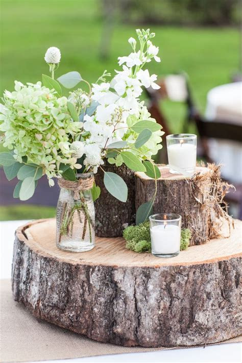 25  best ideas about Rustic Centerpieces on Pinterest