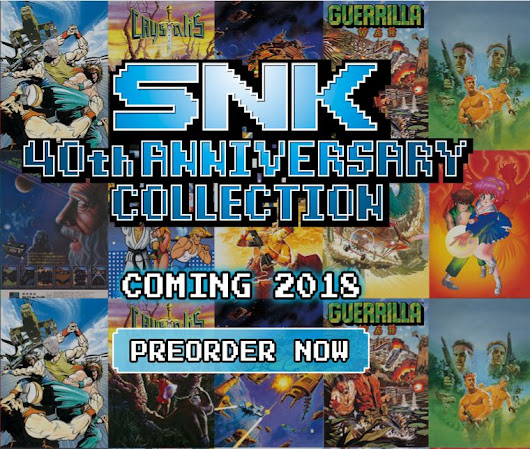 [NIS AMERICA] SNK 40th ANNIVERSARY COLLECTION ¡Llega a Nintendo Switch! - PAWA.cl