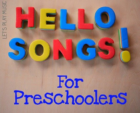 Say Hello! Preschool Hello Songs - Let's Play Music