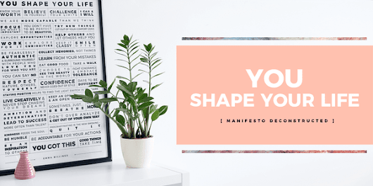 YOU Shape Your Life
