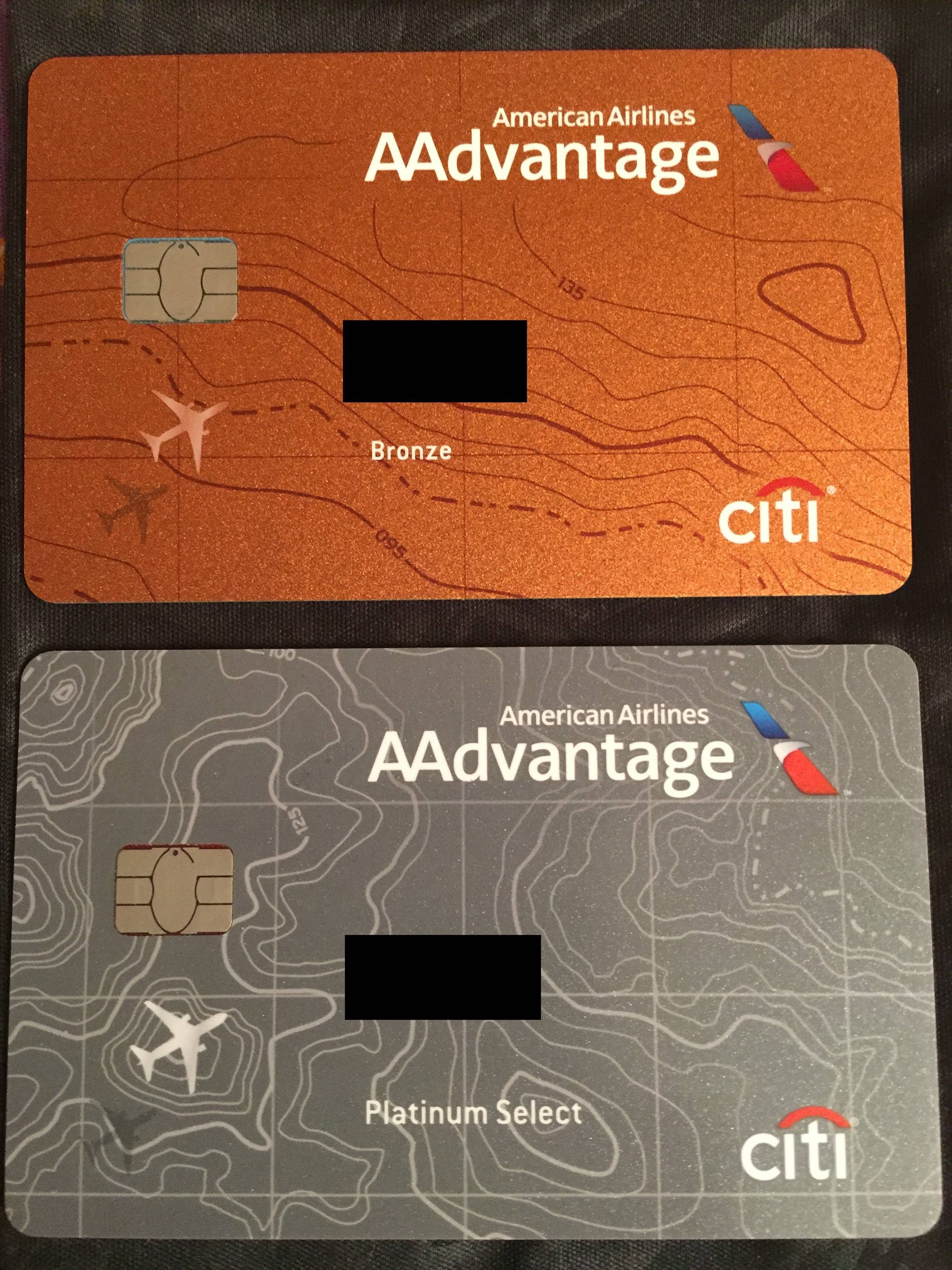 Citi AA Bronze (no-fee, downgrade only) looks much nicer than dull