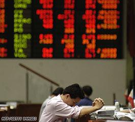Global stocks plummet, hit record lows