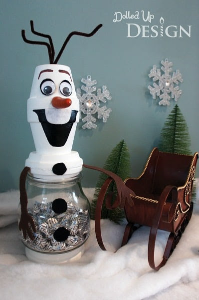 Olaf the Snowman Treat Filled Jar by Moms and Munchkins