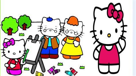 kitty boyama oyunuhello kitty cizimihello kitty