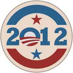 Obama round logo