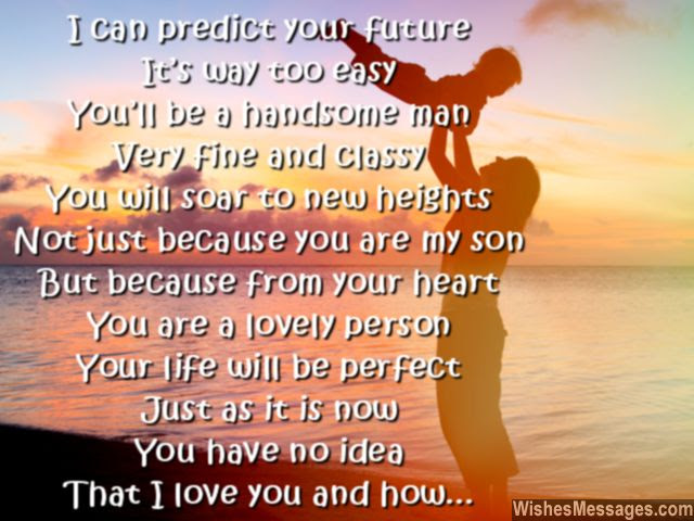 I Love You Messages for Son: Quotes \u2013 WishesMessages.com