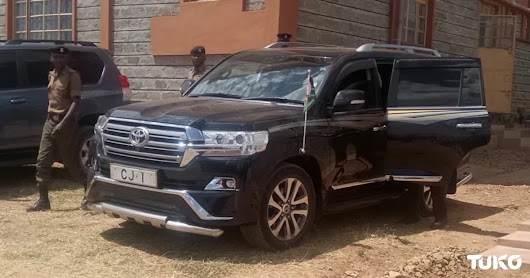 Chief Justice David Maraga's KSh 12 million official car that is turning heads in town | Samrack Media