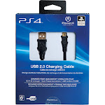 PowerA 6.5' USB 2.0 Charging Cable for PlayStation 4 - Black