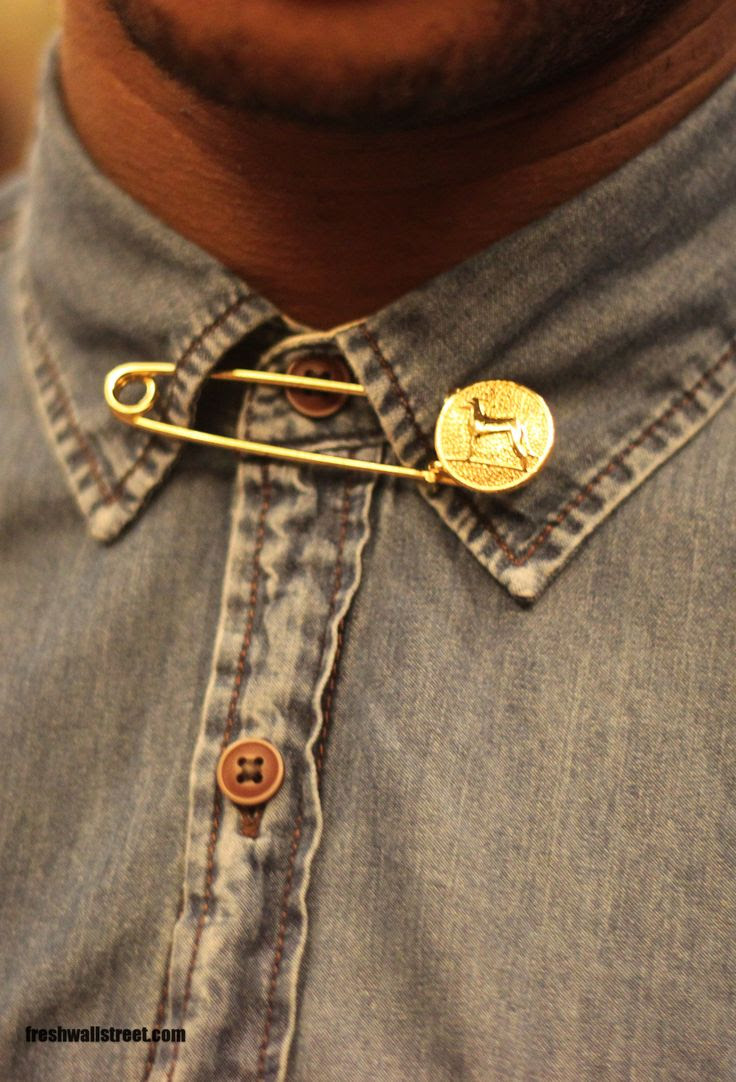 details for president by A. Coleman via WWW.FRESHWALLSTREET.COM (MORE) #denimshirt #menswear #shirt