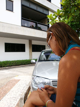 Fã de Ivete Sangalo (Foto: Egi Santana/G1 BA)