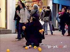 Burkha trouble in Amsterdam