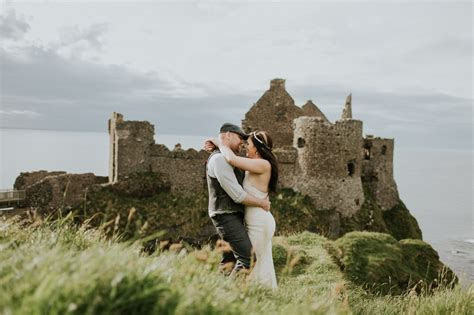 Amanda and Galen   Dunluce Castle Northern Ireland