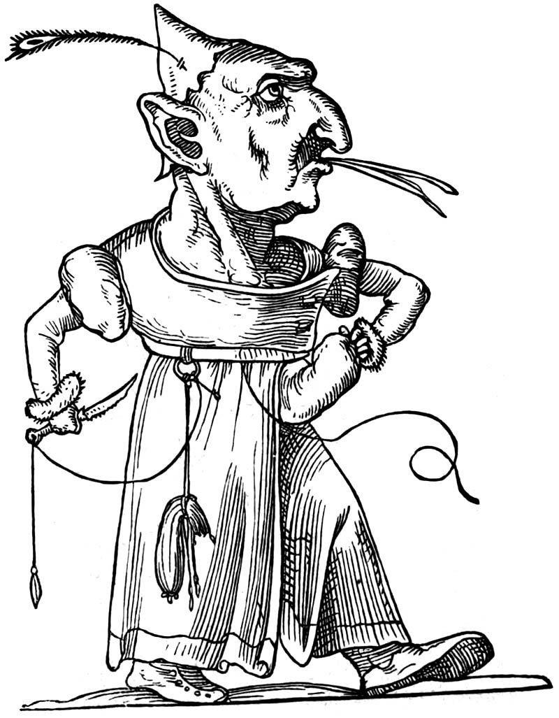 François Desprez - Les Songes drolatiques de Pantagruel - 96