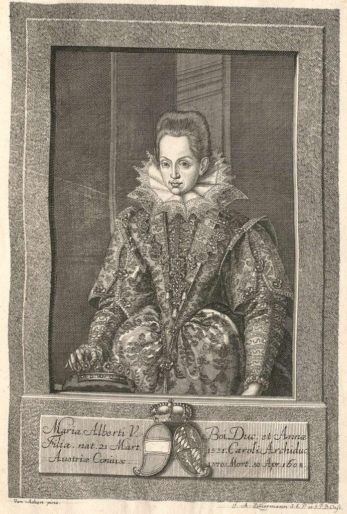 Maria Alberti V 1608