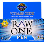 Garden of Life Vitamin Code Raw One for Men, Capsules - 75 count