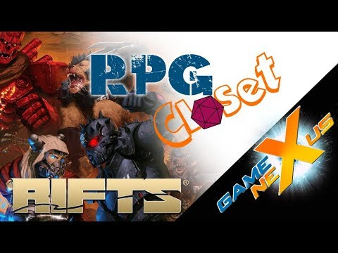 RPG Closet: The Rifts RPG | enterthegamenexus