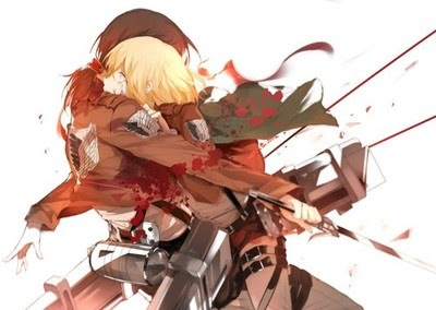 Yumikuri Yumikuri Ymir Krista Attack On Titan Shabiki Art 37739645 Fanpop