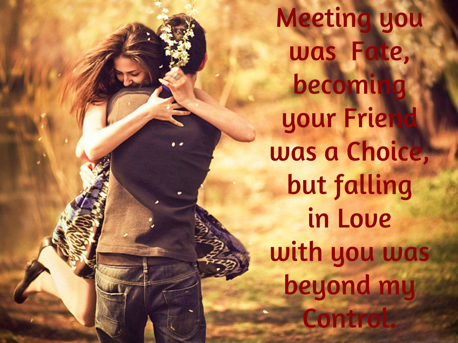 Falling In Love With You Was Beyond My Control Wisdom Quotes Stories