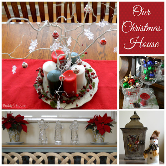 It's Almost Christmas – 2014 House Tour – Puddy's House