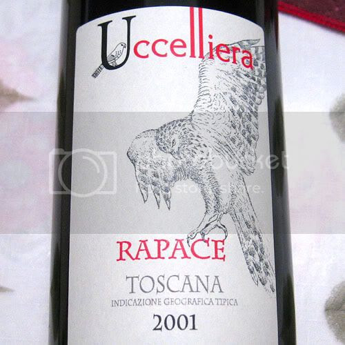 2001 Uccelliera Rapace