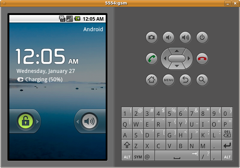Android SDK rodando no Ubuntu