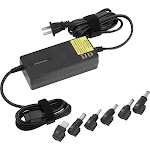 Insignia- AC Laptop Power Adapter - Black