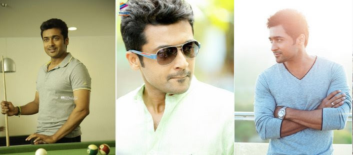 Suriya's 24 first look