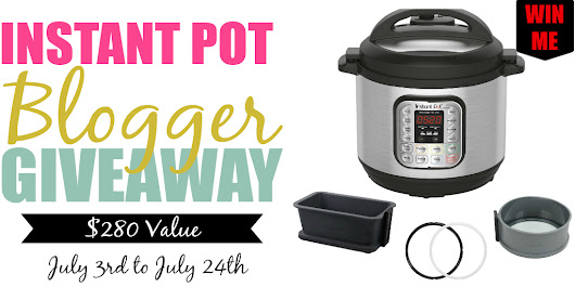 Celebrating Summer with an Instant Pot Giveaway!