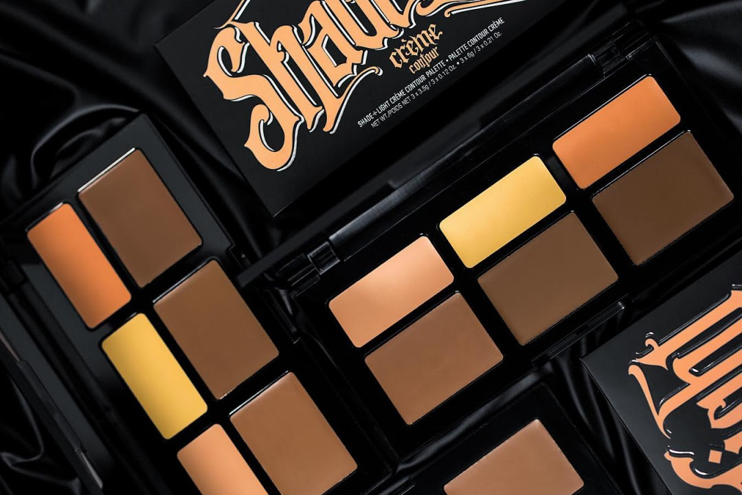 Kat Von D Shade + Light Crème Contour Palette Swatches