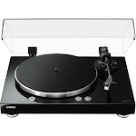 Yamaha - MusicCast WiFi Music Streaming Turntable - Piano Black