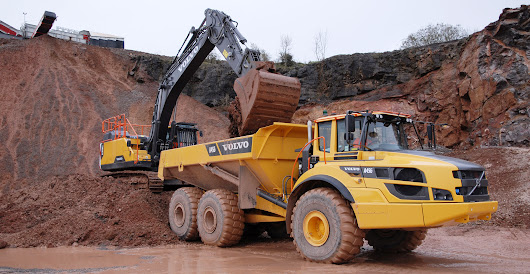 Morris & Perry adds a new Volvo A45G hauler to the fleet