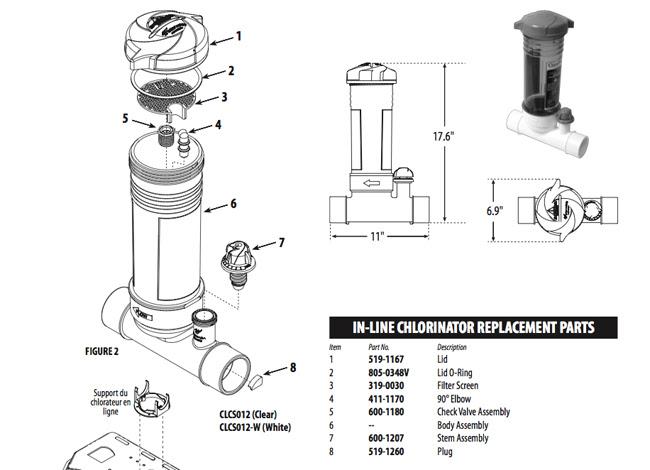 Wiring Diagram: 30 Hayward Chlorinator Parts Diagram
