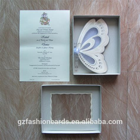Hot sale! stock in trade Royal Butterfly Shape Wedding